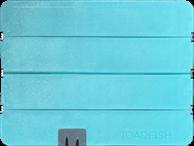 TOADFISH STOWAWAY FOLDING CUTTING BOARD BUILT IN KNIFE SHARPENER TEAL