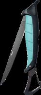 TOADFISH STOWAWAY FOLDING FILET KNIFE BUILT IN CARABINER