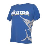 OKUMA T SHIRT MARLIN BLUE
