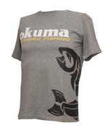 OKUMA T SHIRT SALMON GREY